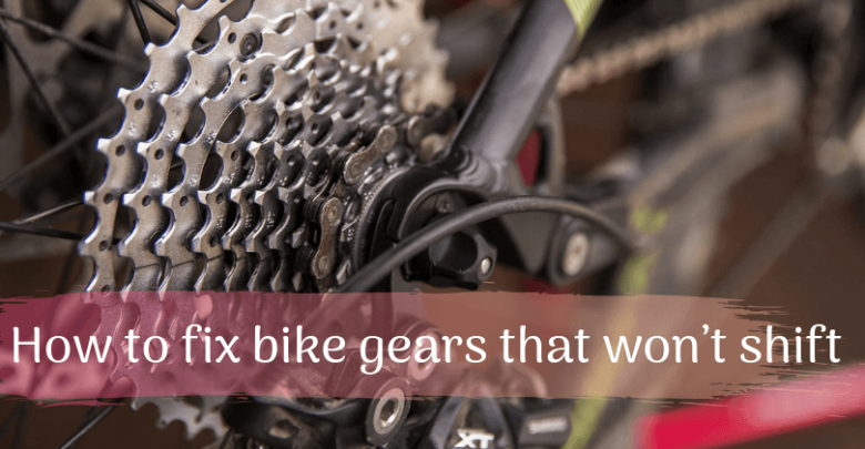 How to fix bike gears that won't shift (1)